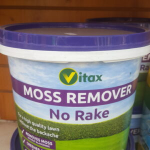 Tub of moss remover