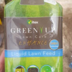 Lawn fertiliser in bottle
