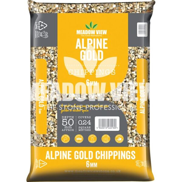 Meadow View Alpine Gold 6mm
