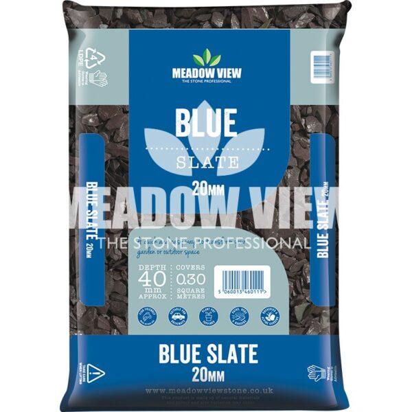 Meadow View Blue Slate 20mm