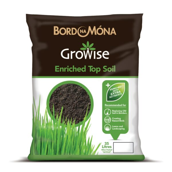 Growise Enriched topsoil