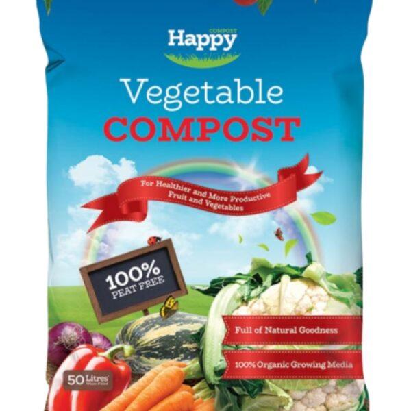 Happy Vegetable Compost 50Lt
